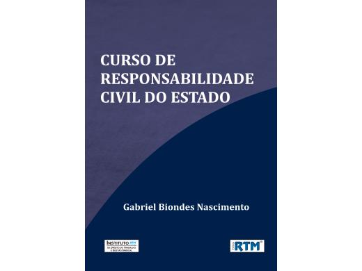 CURSO DE RESPONSABILIDADE  CIVIL DO ESTADO